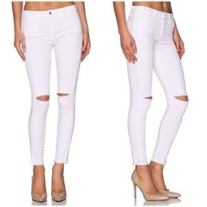 Joe's Jeans Stay Spotless Fin Cropped Ankle Jeans